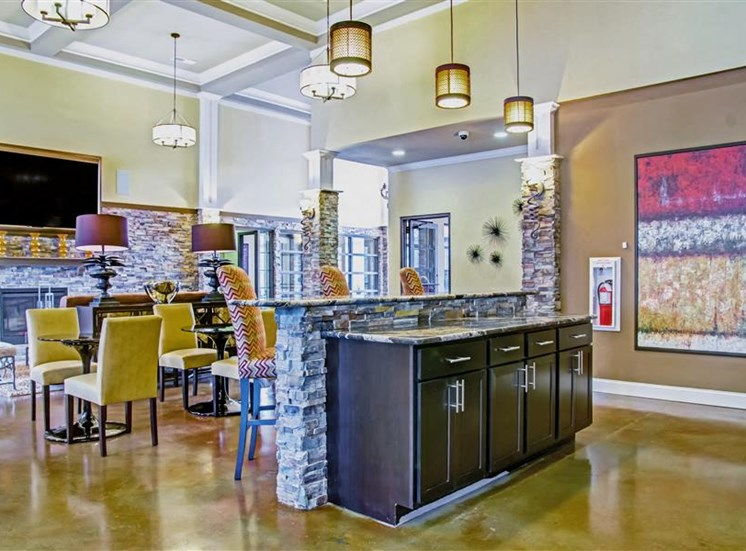 Expansive Clubhouse at Heron Pointe, Nashville, TN