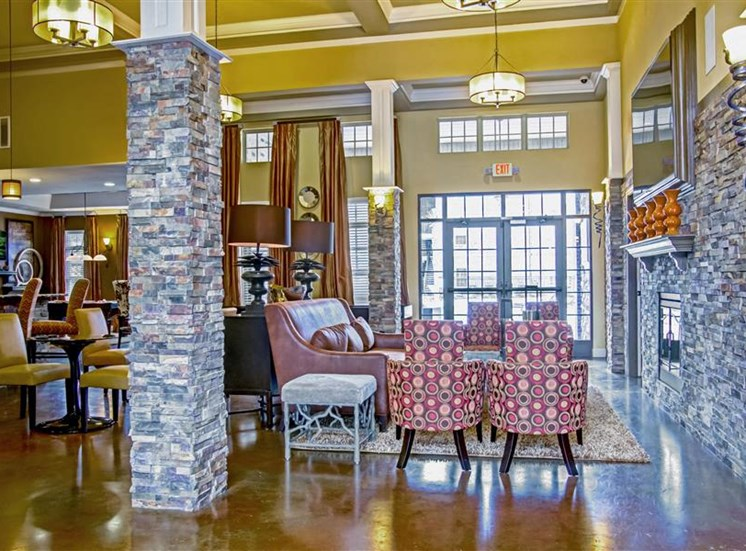Clubhouse with Upgraded Interiors at Heron Pointe, Nashville, 37214