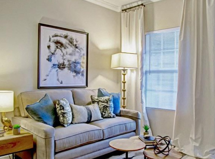 Living Room at Heron Pointe, Nashville, Tennessee