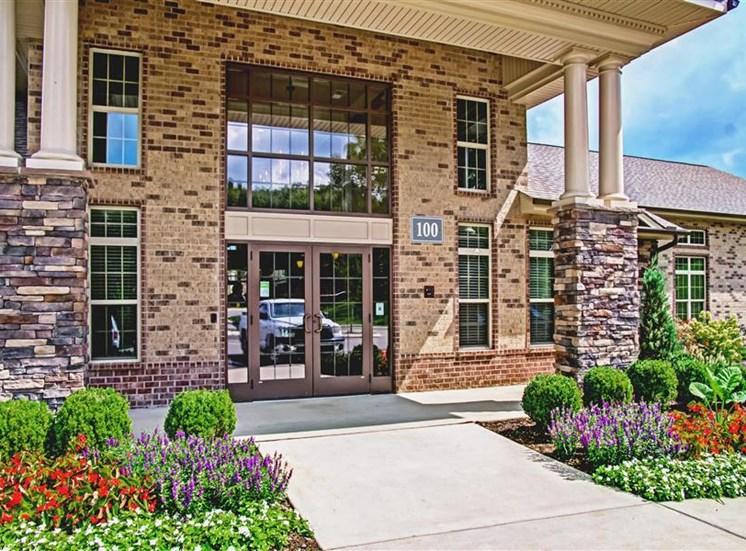 Front Office Entrance at Heron Pointe, Nashville, TN