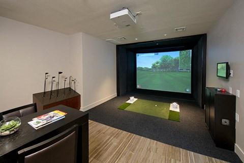 Full-Swing Golf Simulator