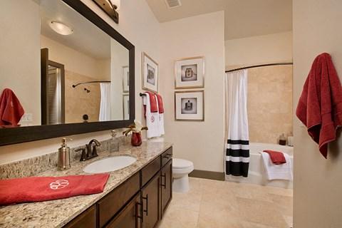 Bathroom in Model unit