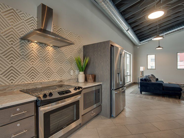 Clubhouse with Upgraded Interiors at TRIO @ southbridge, Shakopee, MN