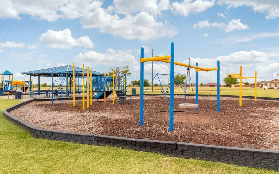 Playground located at Altus AFB Homes