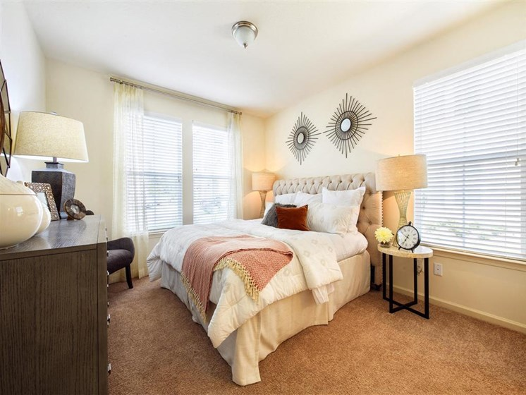 Room with window views