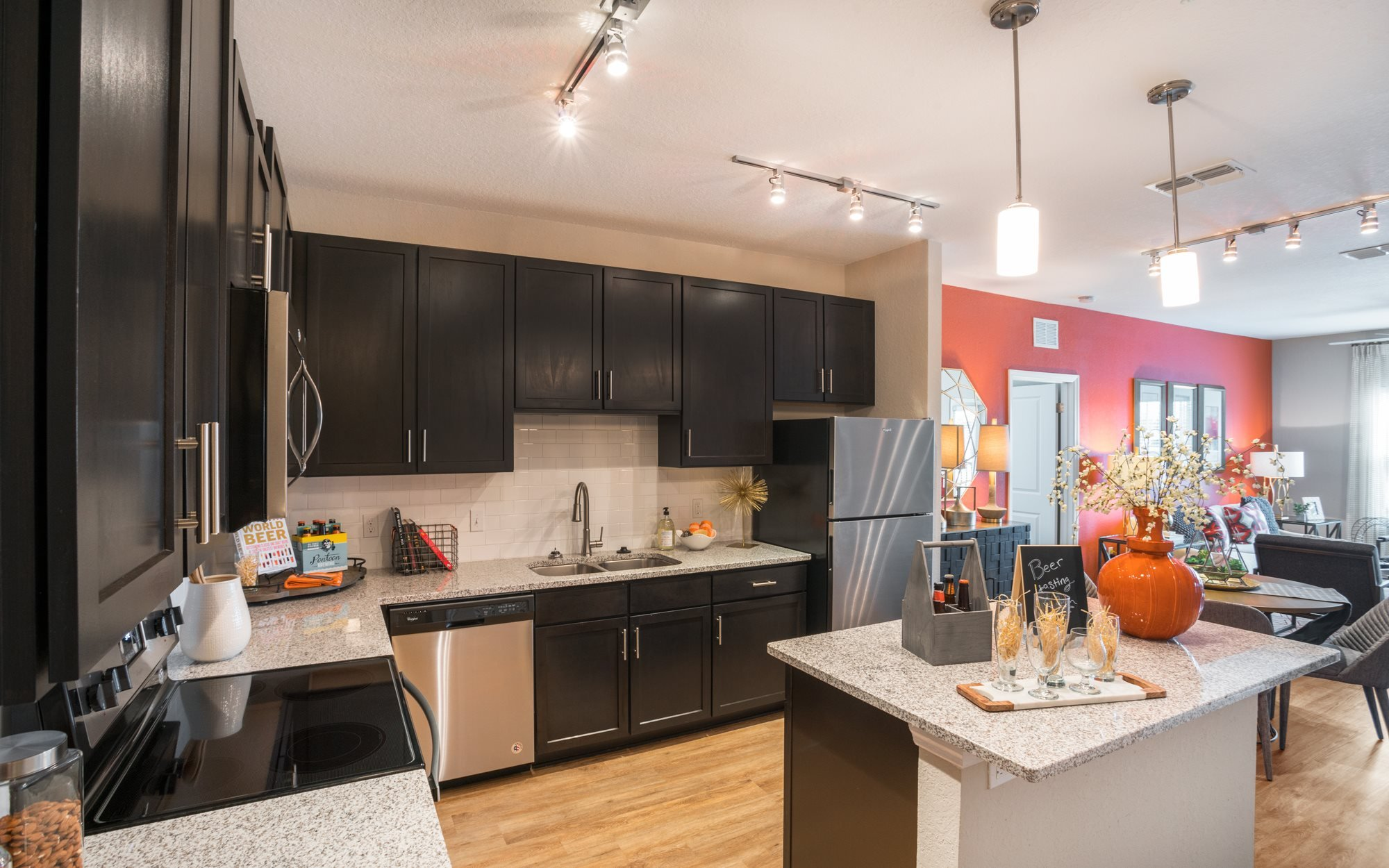 Gourmet Kitchen at Palms at Magnolia Park in Riverview, FL