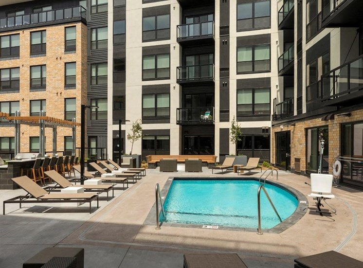Private Swimming Pool Residences at 1700, Minnetonka, 55305