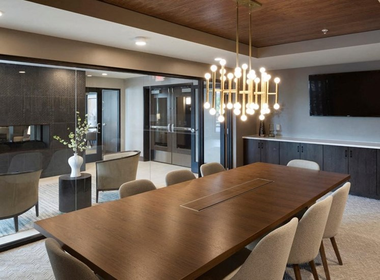 Conference Room In Business Center Residences at 1700, Minnetonka, MN 55305