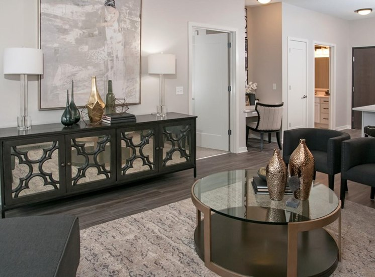 Decorated Living Space, Residences at 1700, MN 55305