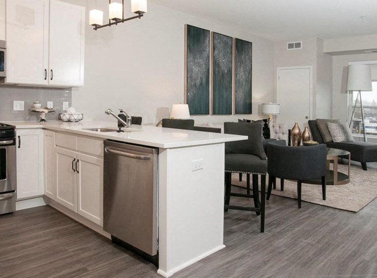 Fitted Kitchen, Residences at 1700, Minnetonka, MN 55305