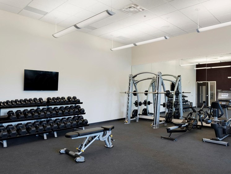 Fully Equipped Fitness Center at The Shoreham, St. Louis Park, Minnesota