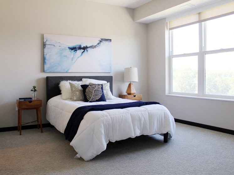 Private Master Bedroom at The Shoreham, St. Louis Park, MN