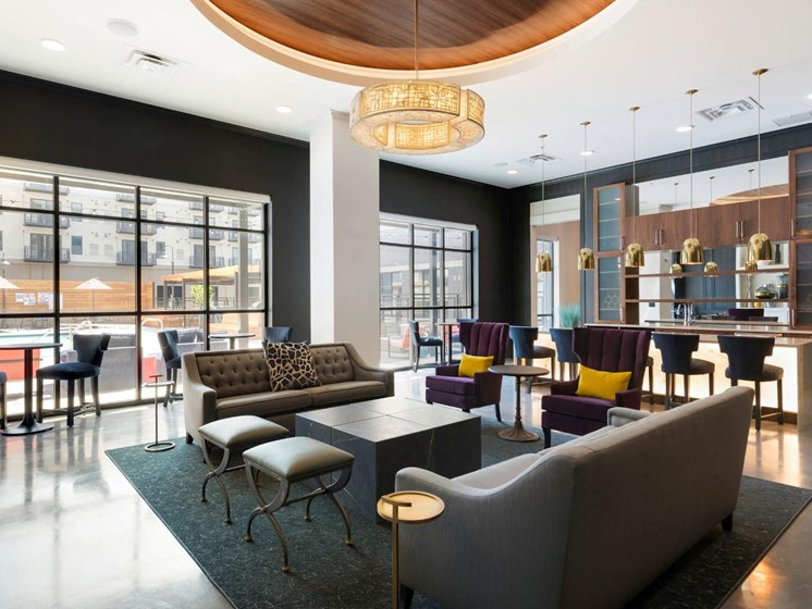Stylish Clubhouse at The Shoreham, St. Louis Park, MN