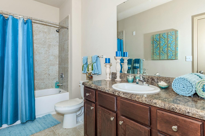 Bathroom at Riversong Apartments in Bradenton, FL
