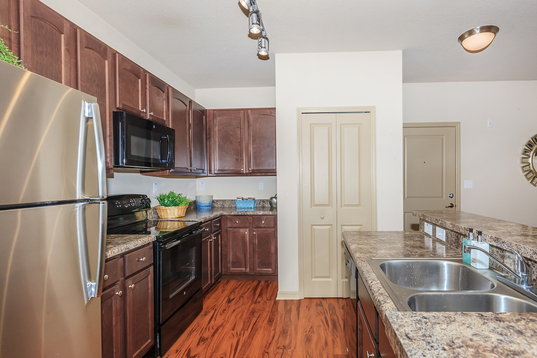 Kitchen at Riversong Apartments in Bradenton, FL