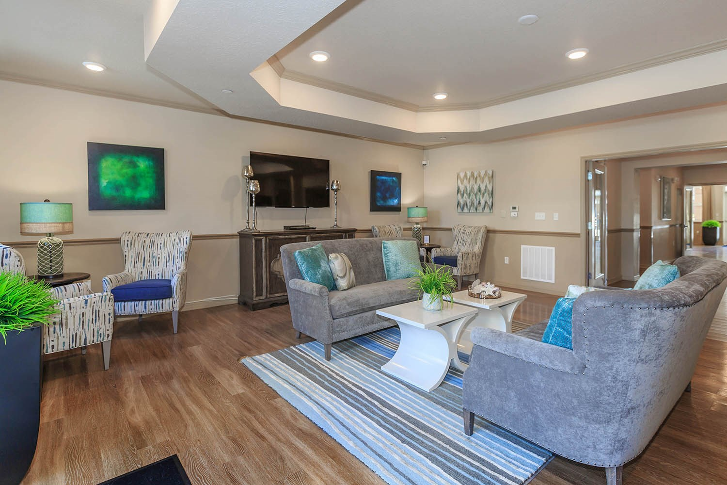 Clubhouse at Riversong Apartments in Bradenton, FL