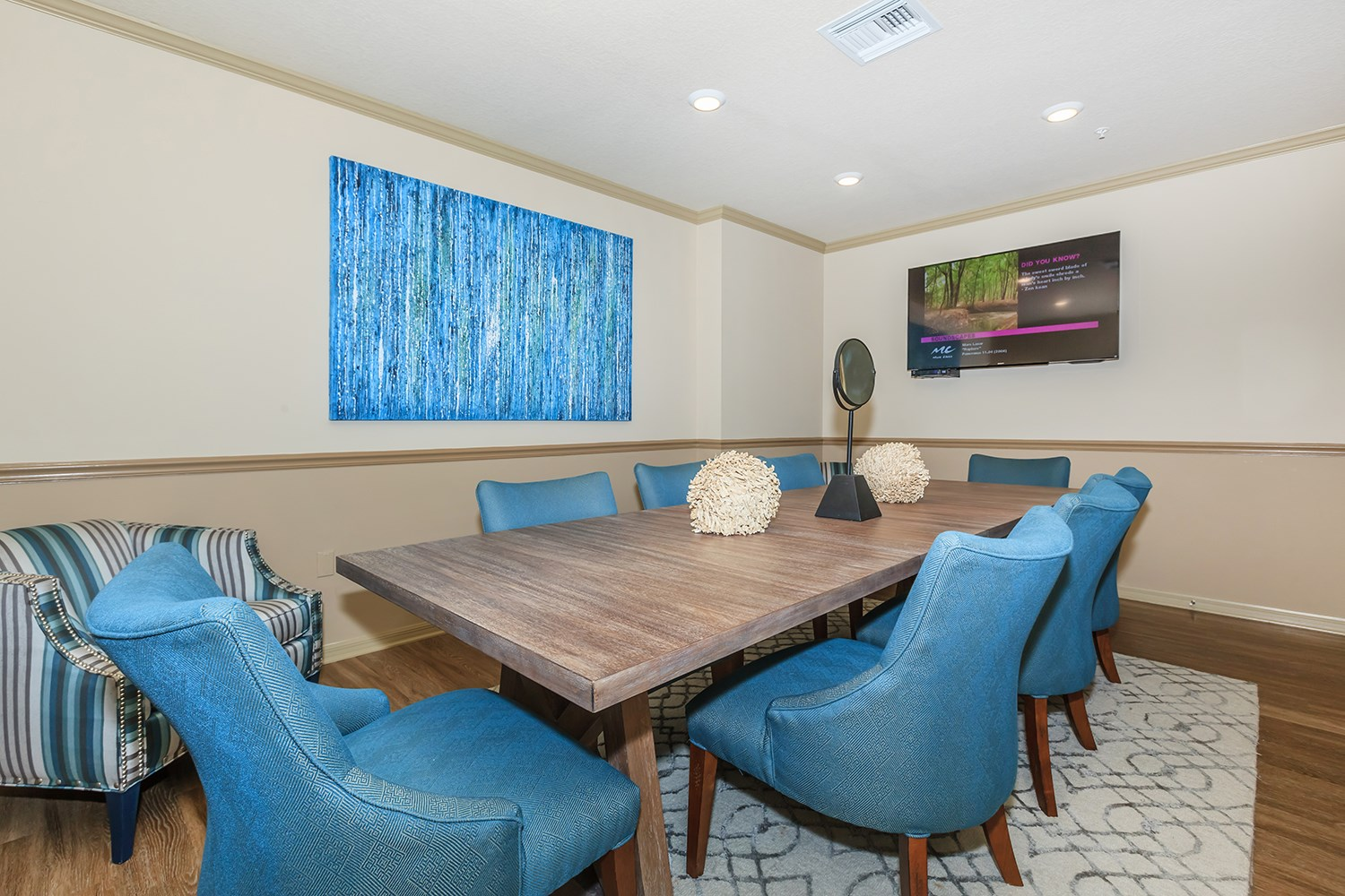 Conference Room at Riversong Apartments in Bradenton, FL