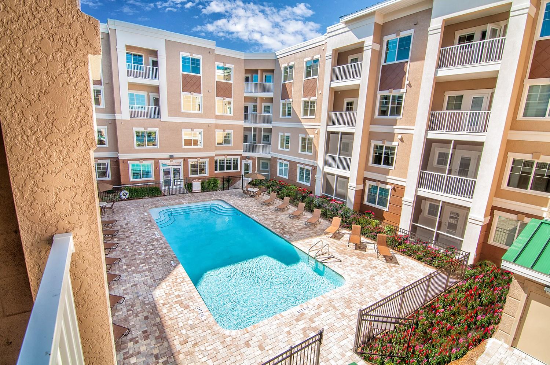 Swimming Pool at Riversong Apartments in Bradenton, FL