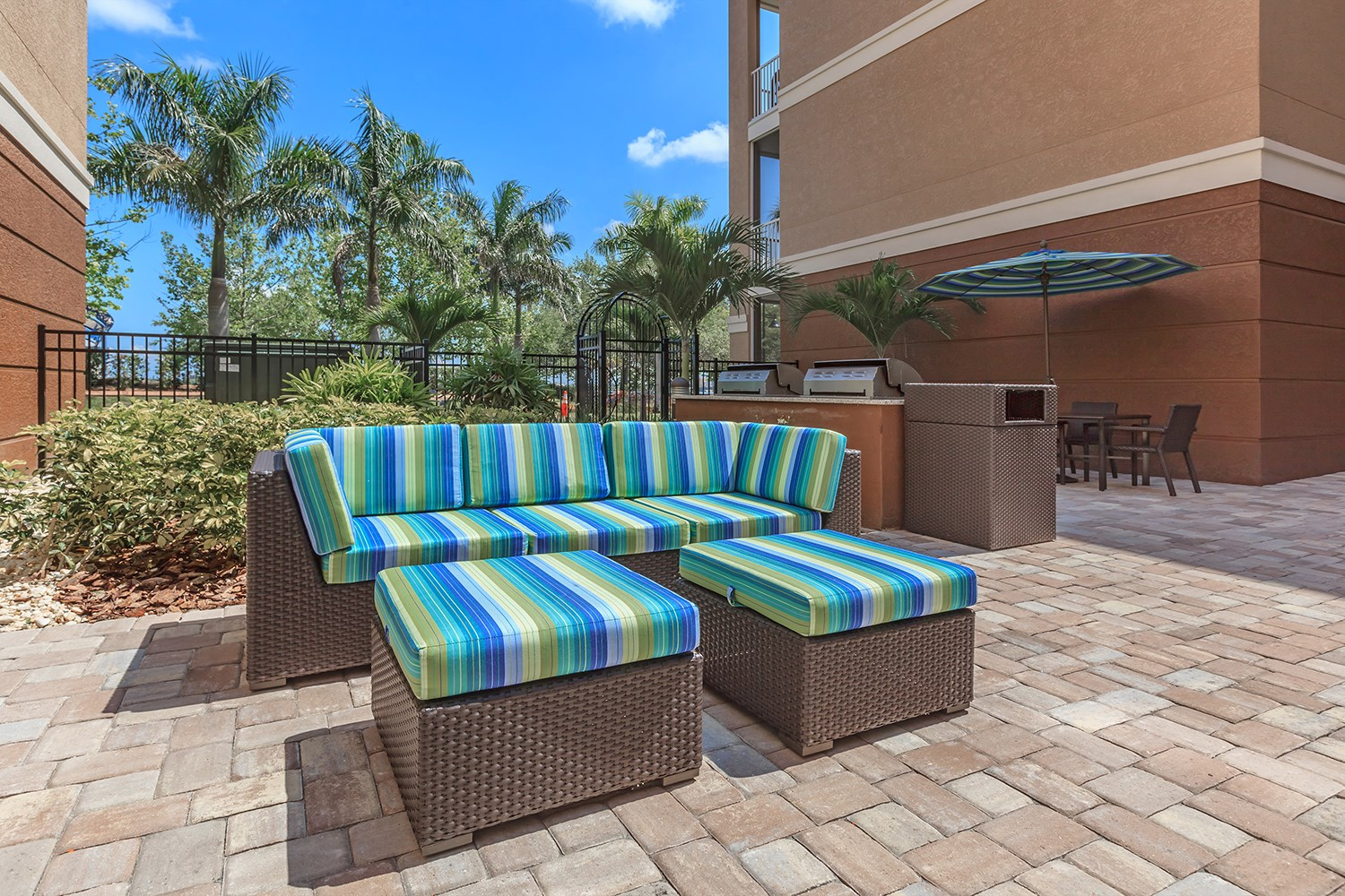 Outdoor Lounge at Riversong Apartments in Bradenton, FL