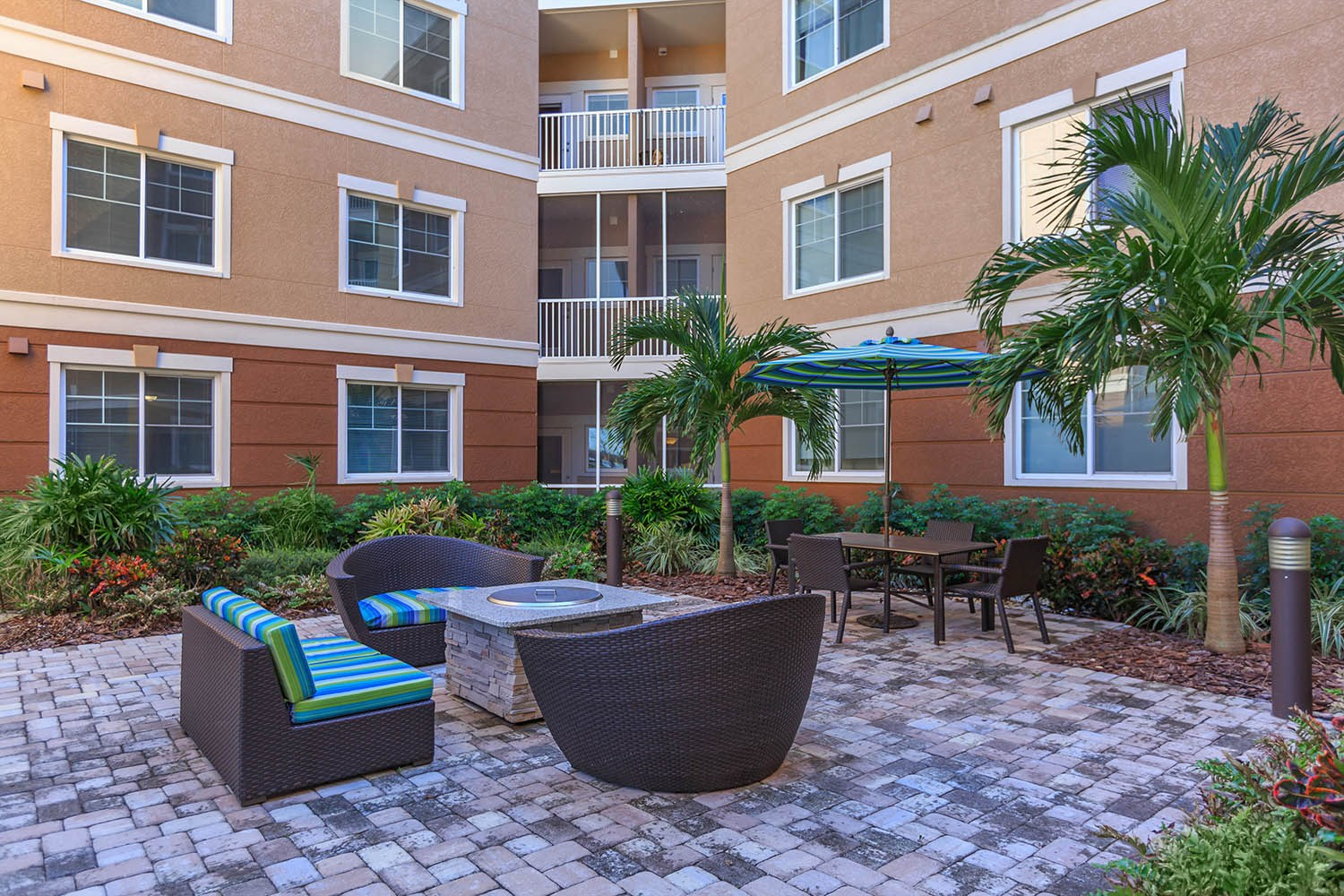 Firepit at Riversong Apartments in Bradenton, FL
