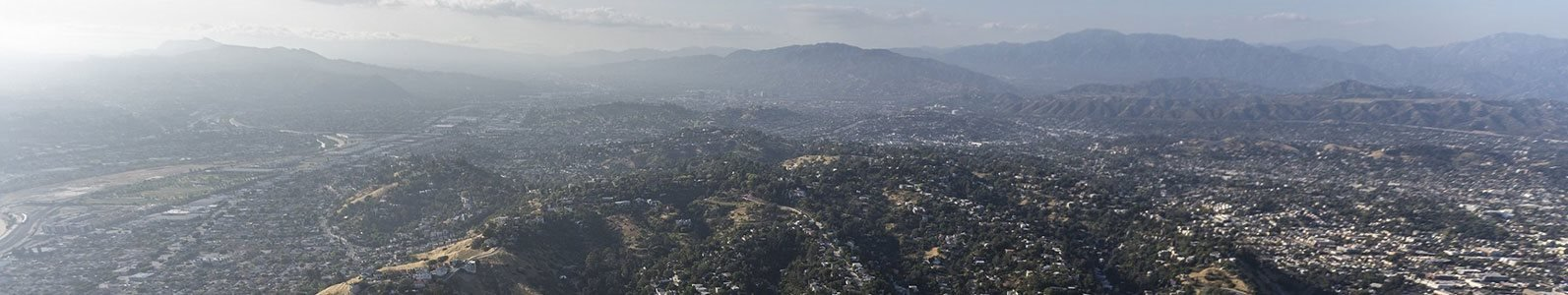 Arial View Of City The Perch Northeast LA