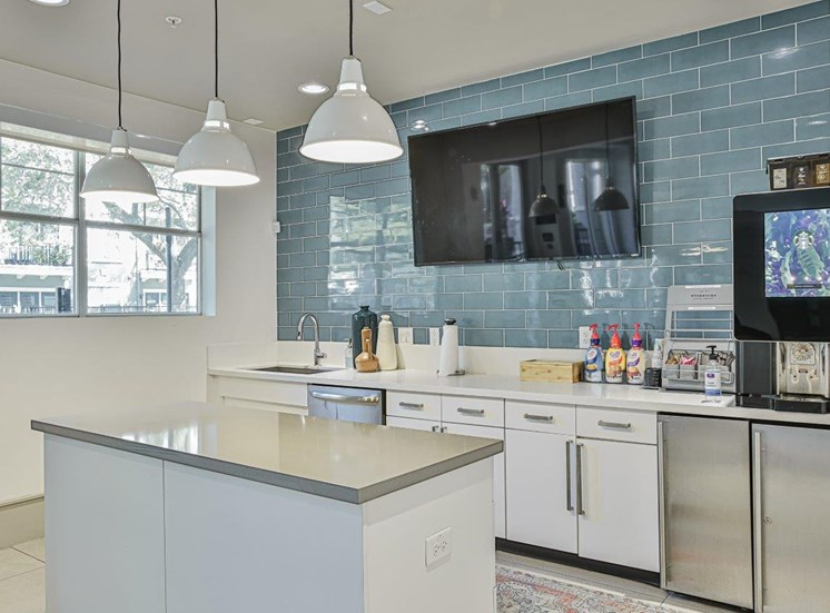 Clubhouse Kitchen Area