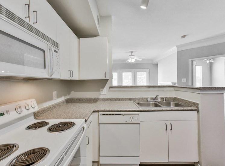 kitchen white appliances