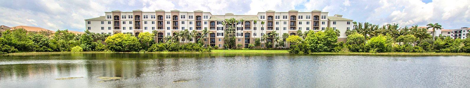 Vizcaya Lakes at Renaissance Commons apartments with lake views in Boynton Beach, Florida