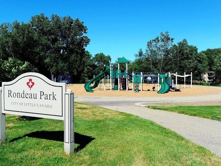 Playground and Sign