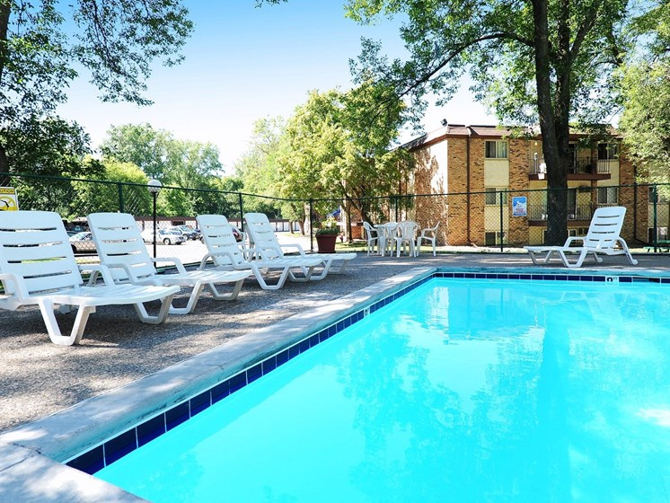 Pool and Pool Chairs