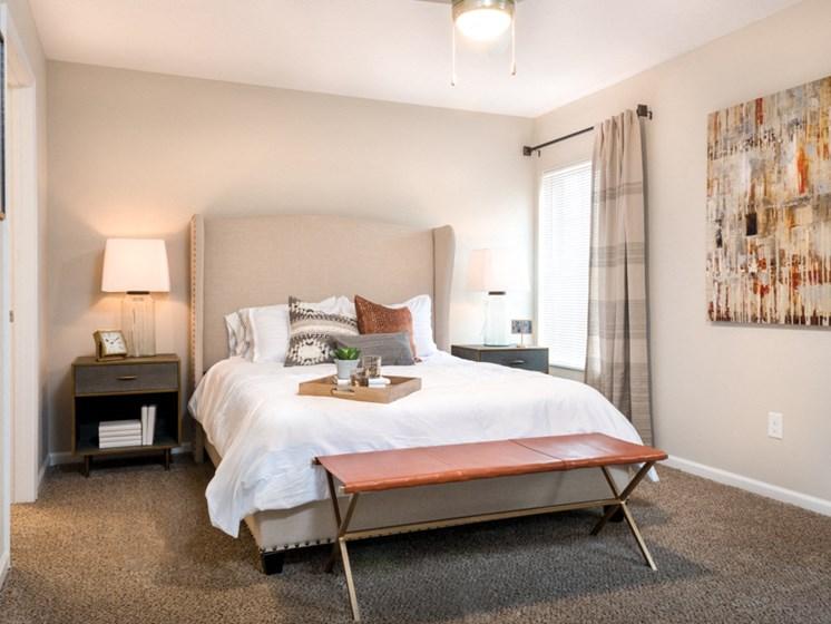 Shelby Township MI Apartment Rentals Redwood River Birch Bend Master Bedroom