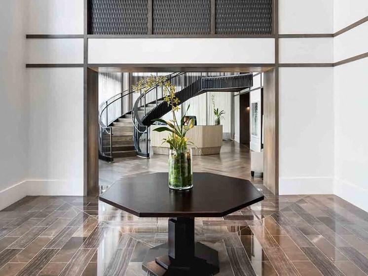 Contemporary Interior Design at Grey House Apartments in Houston, Texas