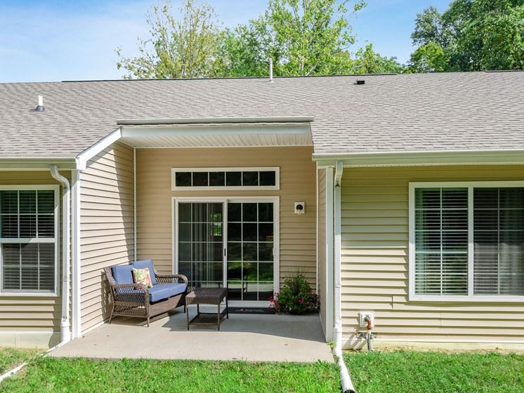 Union Township OH Apartment Rentals Redwood Savannah Ridge Patio