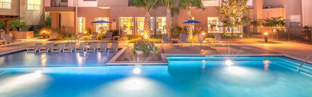 Resort-Style Pool l Haven at Lake Highlands l Dallas, TX Renals