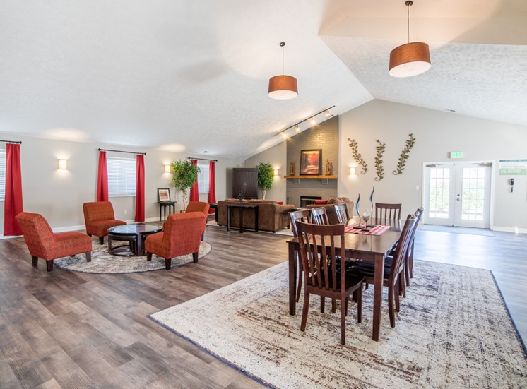 Clubroom at Bradford Place Apartments, Indiana, 47909