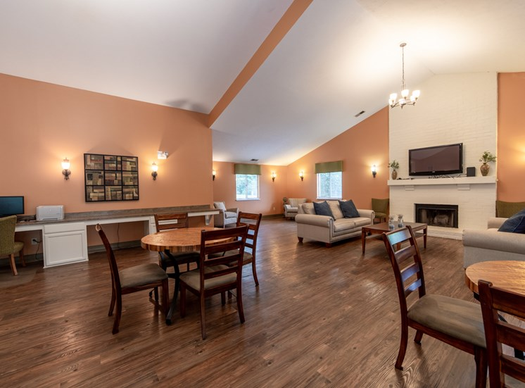 Clubhouse With Catering Kitchen at Bradford Ridge Apartments, Bloomington, Indiana