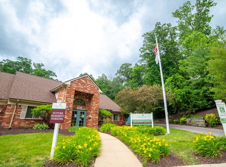 Front Entrance To Property at Bradford Ridge Apartments, Indiana