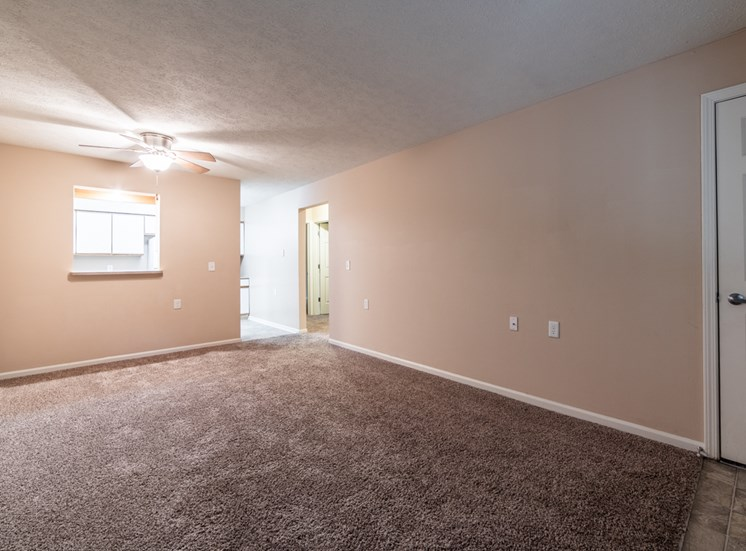 Carpeted Bedroom at Bradford Ridge Apartments, Bloomington, IN, 47403