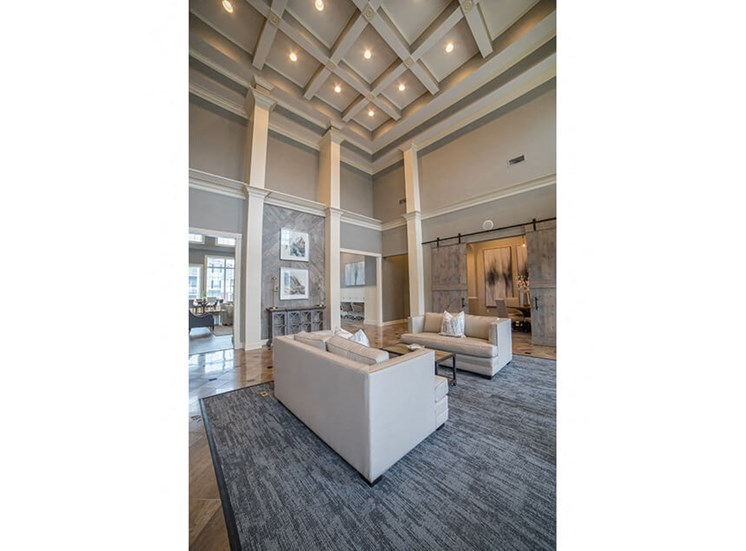 Decorated Reception And Lobby Area at Champion Farms Apartments, Louisville, KY