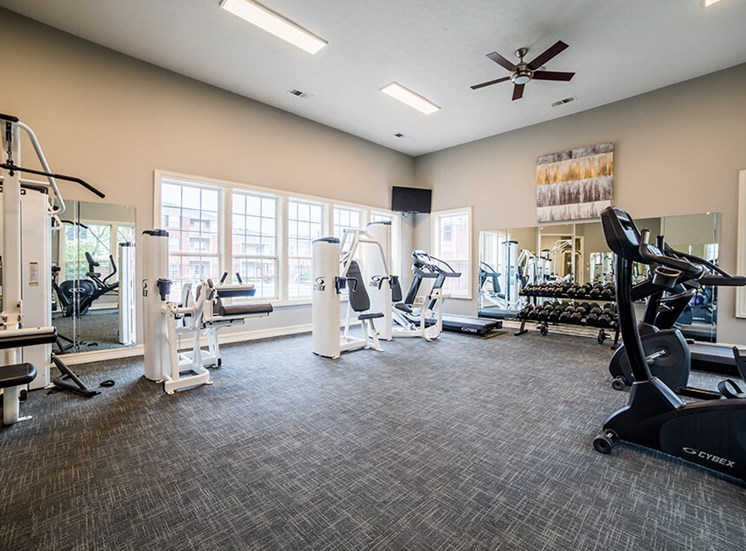 State of the Art Fitness Center at Champion Farms Apartments, Kentucky, 40241
