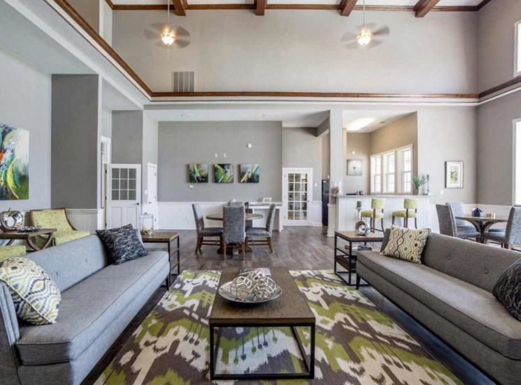 Resident Lounge at The Reserve at Williams Glen Apartments, Zionsville, Indiana