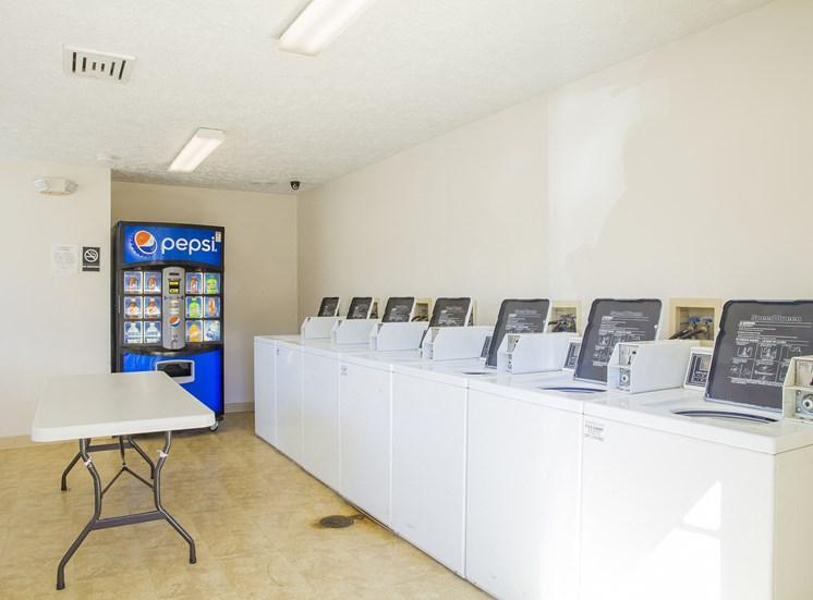 community laundry facilities