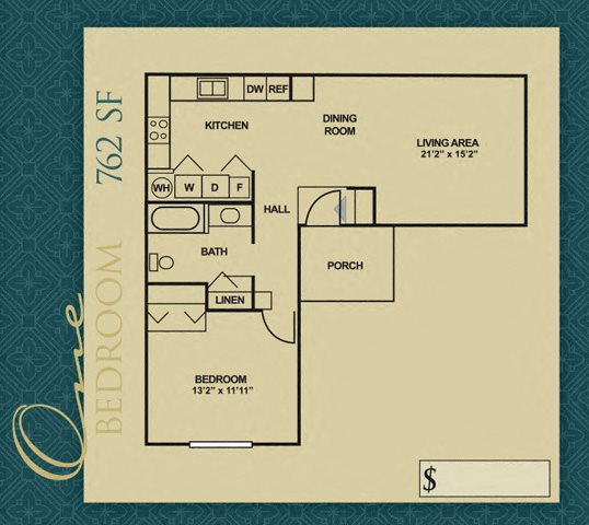 Floor Plans Of Cottages Of Anderson Apartments In Anderson In