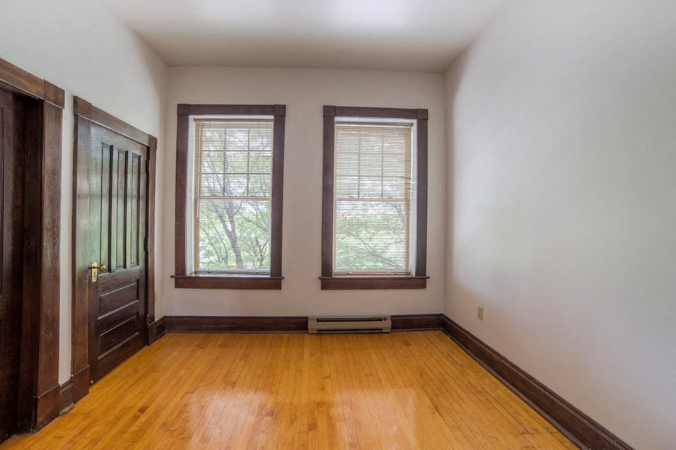 Beautiful Bright Bedroom With Wide Windows at Mass Ave Living By Buckingham, Indianapolis