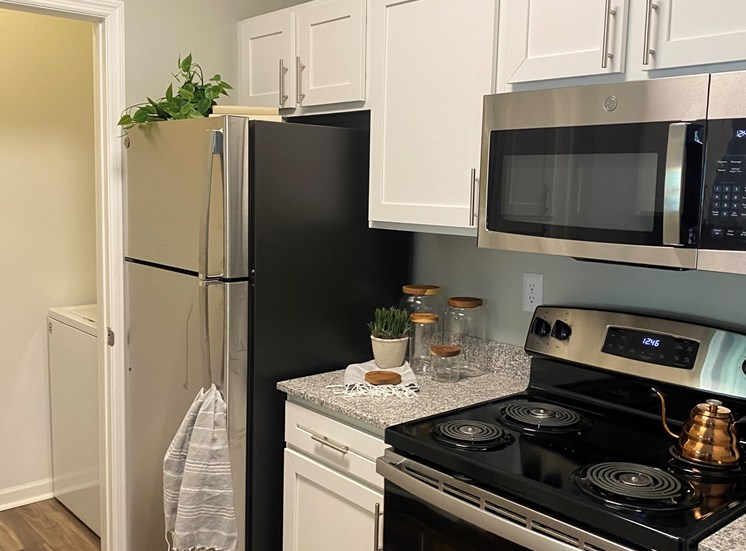 Renovated Kitchen at The Village on Spring Mill, IN, 46032