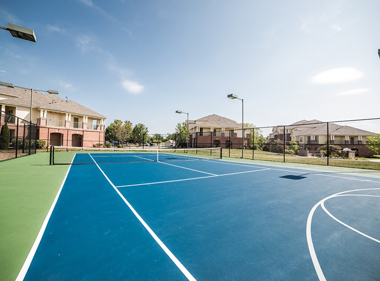 Tennis Court at The Village on Spring Mill, Carmel, Indiana