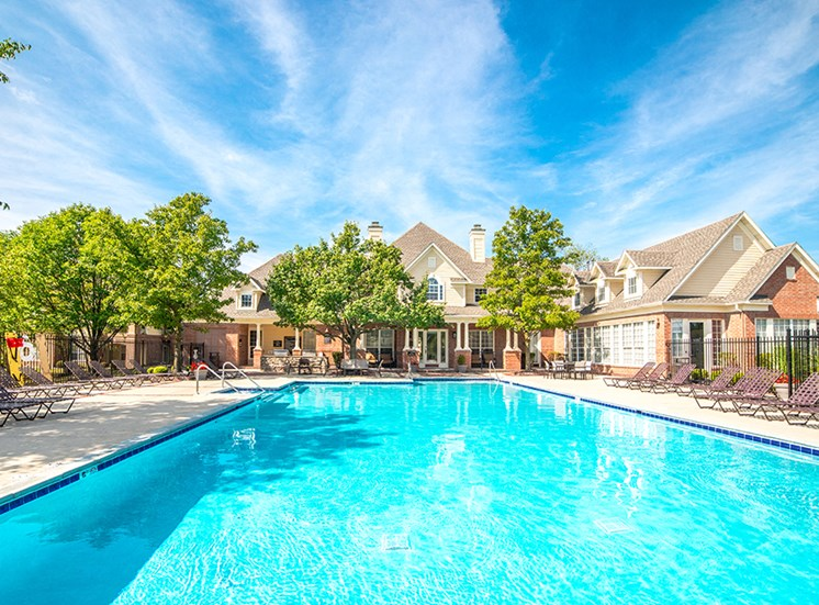 Resort Inspired Pool at The Village on Spring Mill, Carmel, IN, 46032