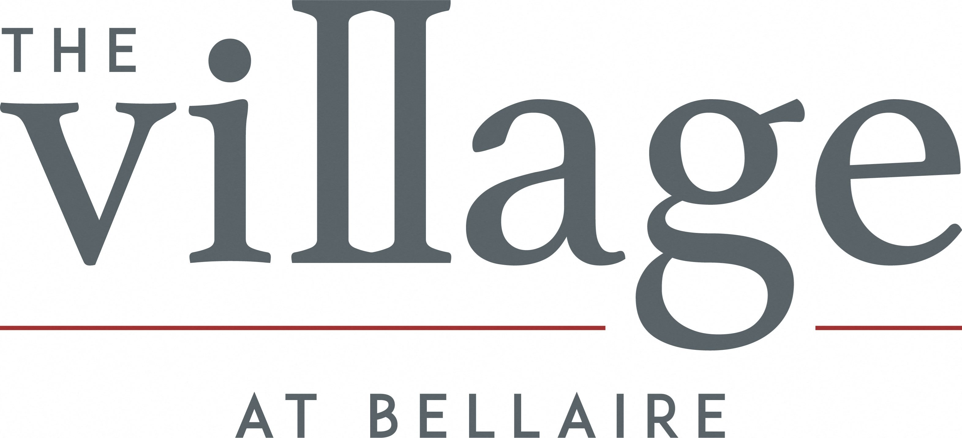 The Village at Bellaire Apartments Logo Design in Houston, Texas
