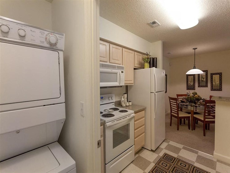 In-Unit Washer and Dryer at The Preserve Apartments in Walpole, MA 02081