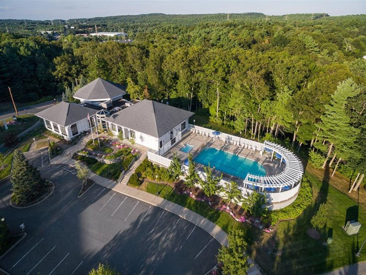 Beautiful and Scenic Views at The Preserve Apartments in Walpole,Massachusetts